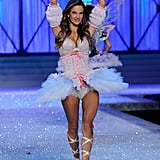 Alessandra Ambrosio played the part of prima ballerina for the 2011 Victoria's Secret Fashion Show.
