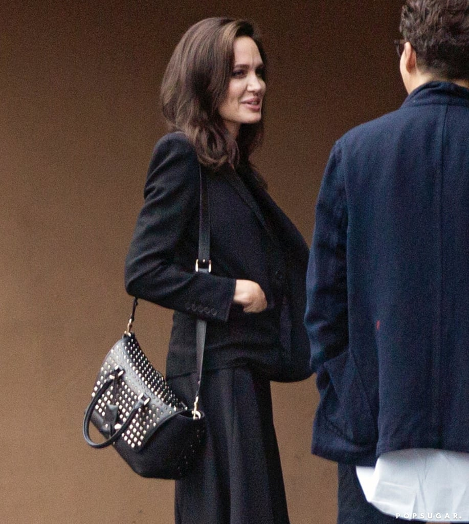Angelina Jolie Studded Valentino Bag