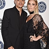 Ashlee Simpson and Evan Ross at Art of Elysium Gala 2017