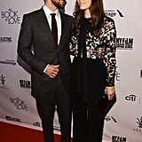 Justin Timberlake Admiring Jessica Biel Is the Cutest Part of Their Red Carpet Outing