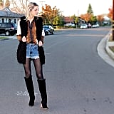 Try Tights With Shorts