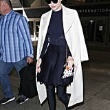 Miranda Kerr's Balenciaga Spandex Boots