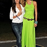 Lily Aldridge and Karlie Kloss