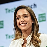 Jessica Alba at TechCrunch Disrupt
