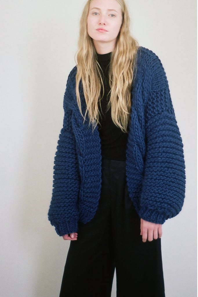 Milkwood NYC Handmade Cabled Cardigan ($380)