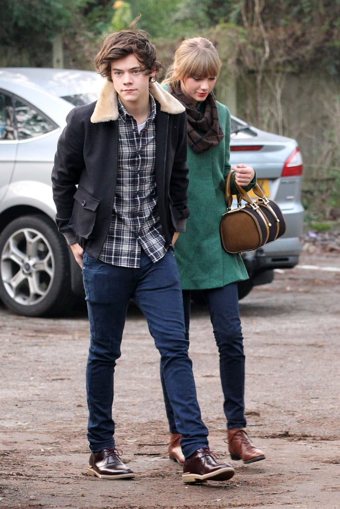 Taylor Swift and Harry Styles had a sweet day together.