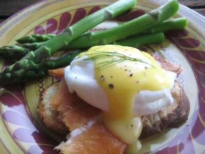 Fish and Chips Eggs Benedict