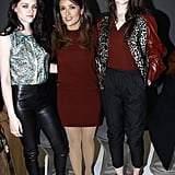 Kristen Stewart, Salma Hayek, and Charlotte Gainsbourg were among the well dressed guests at the show.