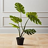 Bonnie: Faux Potted Monstera Plant