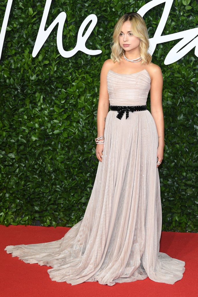 Lady Amelia Windsor at the British Fashion Awards 2019