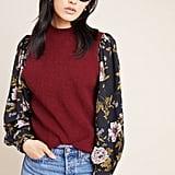 Nathalie Mock Neck Sweater