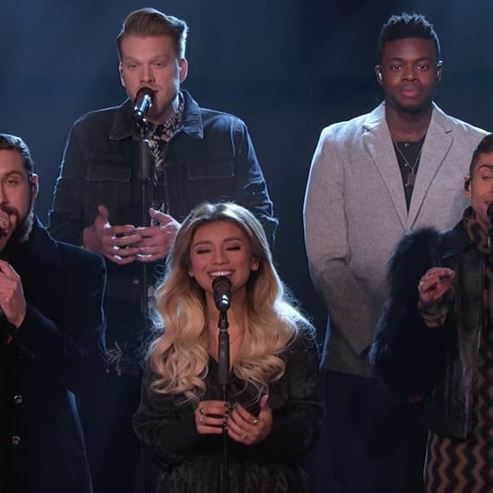 "Pentatonix Performs ""God Rest Ye Merry Gentlemen"" on Kimmel"