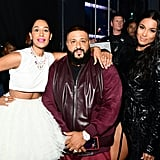 Pictured: Tracee Ellis Ross, DJ Khaled and Ciara