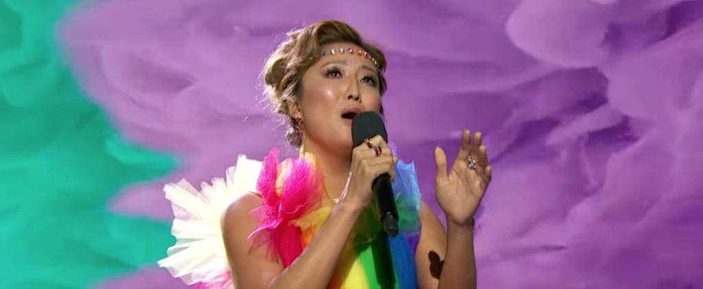 """Watch Ashley Park Sing a Cover of """"Over the Rainbow"""" 