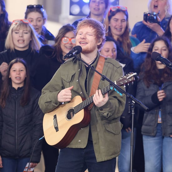 Ed Sheeran Singing on The Howard Stern Show March 2017