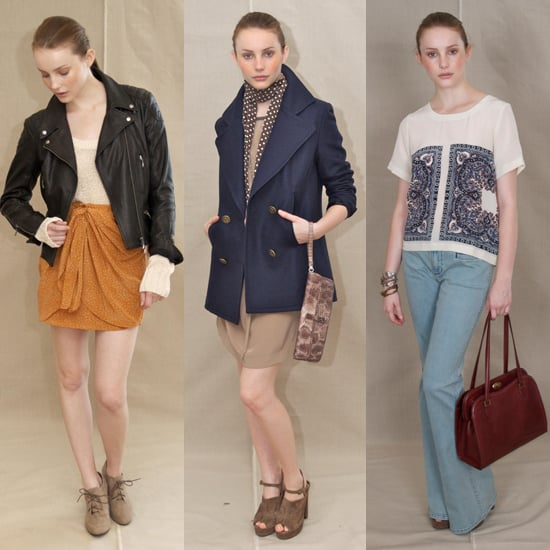 Club Monaco Shows Spring 2012 Collection