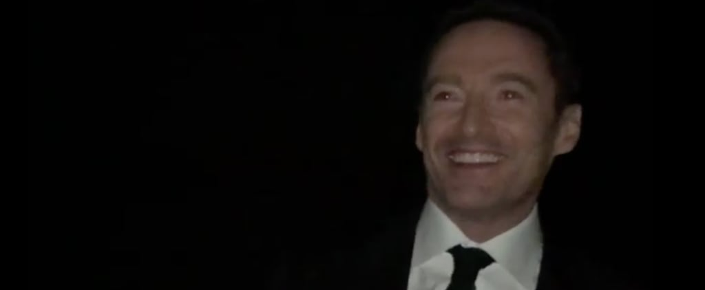 Hugh Jackman Surprises The Greatest Showman Screening Video
