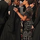Pictured: Lupita Nyong'o and Naomie Harris