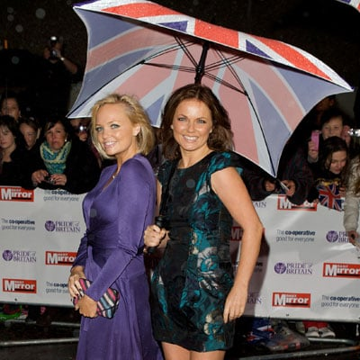 Geri Halliwell and Emma Bunton at the Pride of Britain Awards