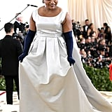 Mindy Kaling at the 2018 Met Gala