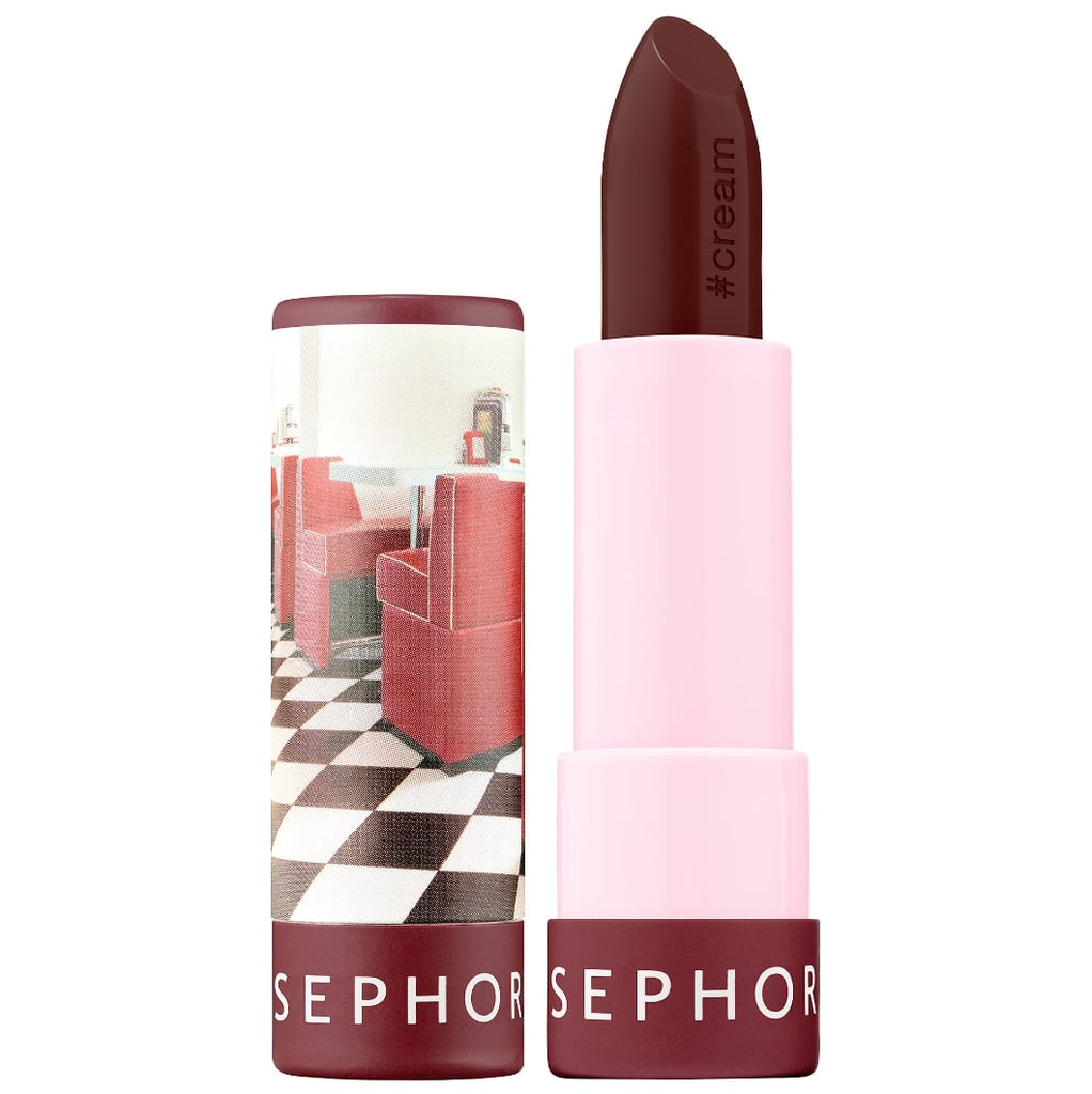 The only thing we love more than an affordable beauty product? One that actually works. For a Fall-friendly iteration of Sephora's intensely pigmented #Lipstories lipsticks, pick up this rich chocolate brown ($8) shade.