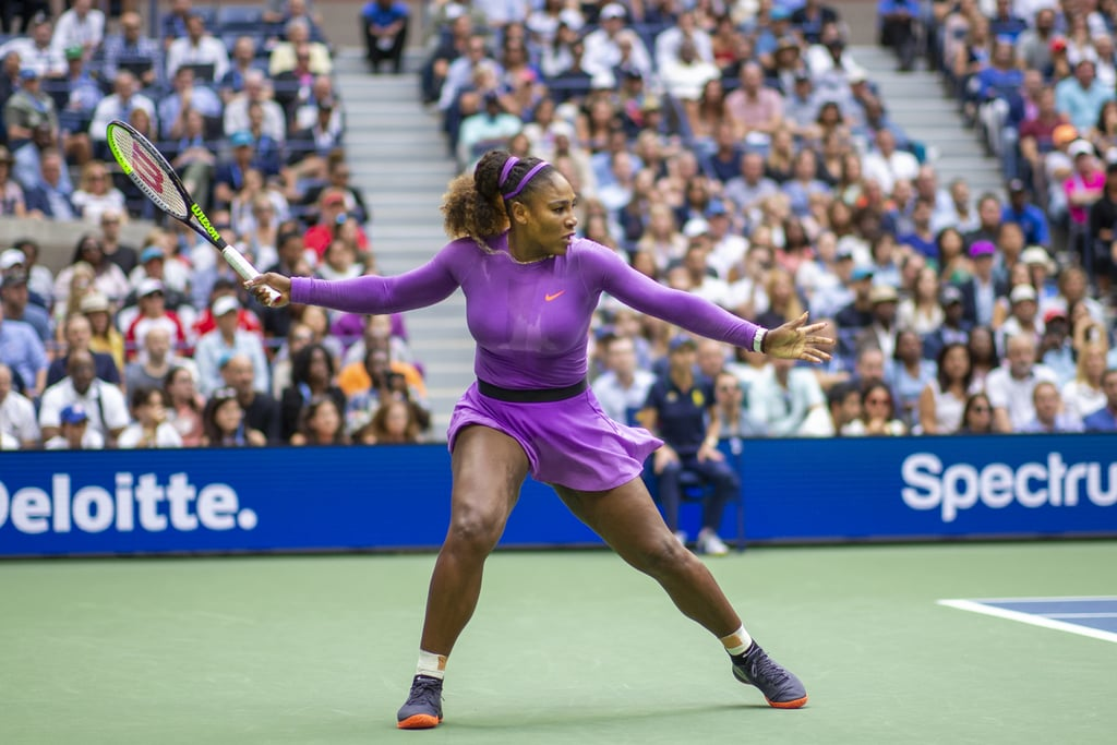 Serena Williams's Long-Sleeved Purple Dress Is a Piece We Want in Our Closets