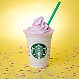 birthday cake frappuccino best starbucks frappuccinos popsugar food 1751