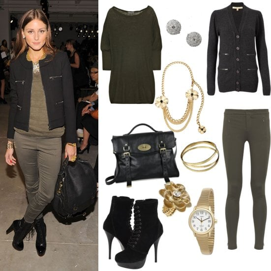 Pictures of Olivia Palermo at 2011 Spring Peter Som Show