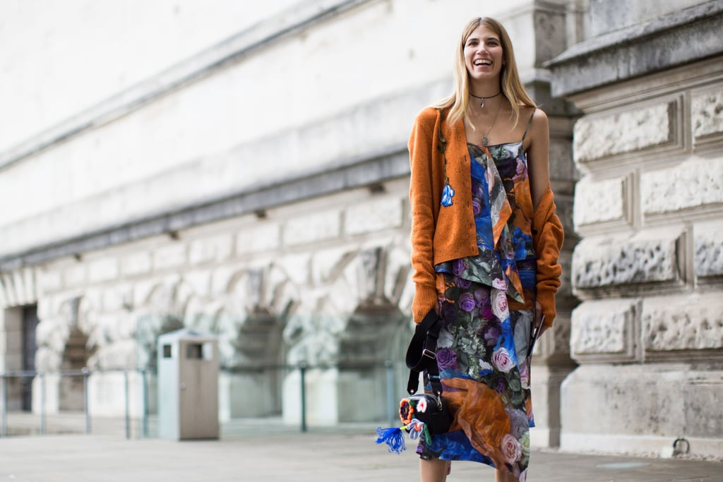 London Fashion Week Street Style Spring 2017 Popsugar Fashion