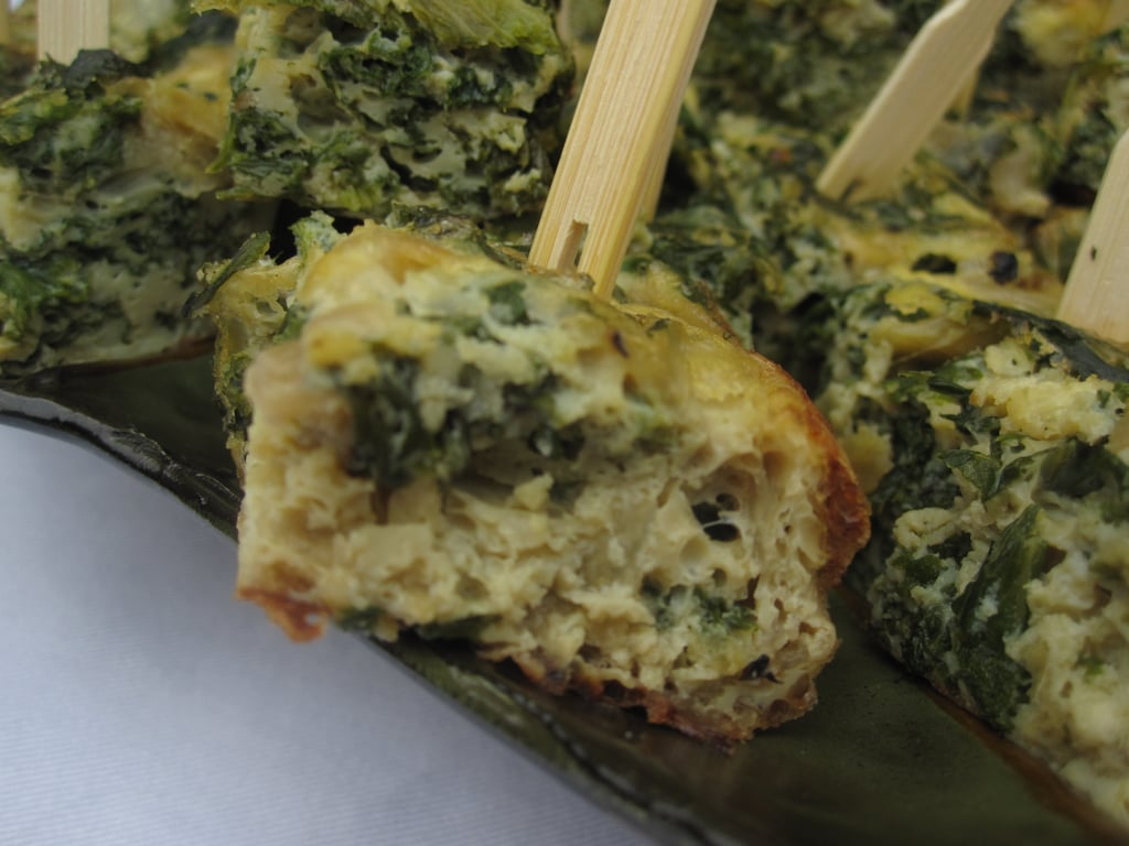 Mustard Green and Sweet Onion Frittata