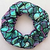 CloLouiseDesigns Mermaid Holographic Hair Scrunchie