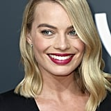 Margot Robbie at the 2018 Golden Globes
