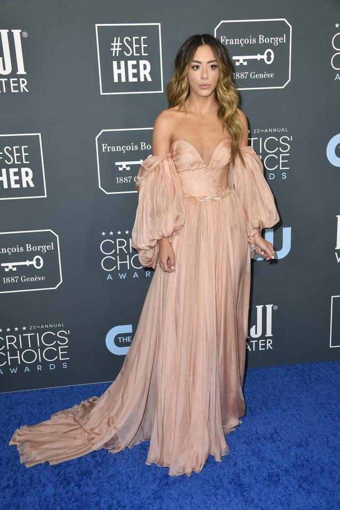 Chloe Bennet at the 2020 Critics' Choice Awards