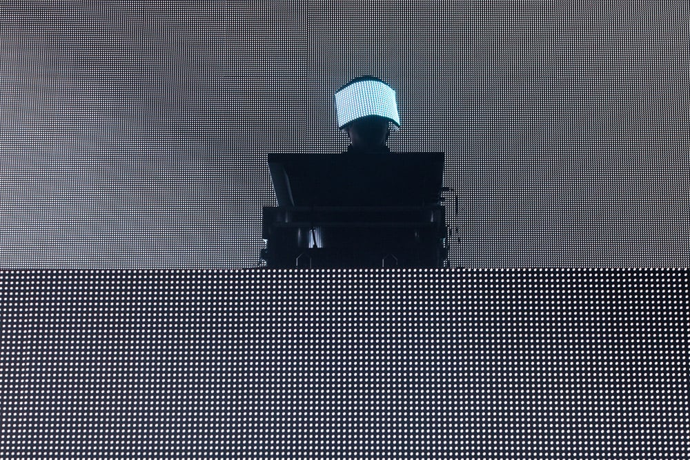 Genre-bending electronic music artist Squarepusher, aka Tom Henkin, also performed, previewing tunes from his new album, Ufabulum, due out May 15.