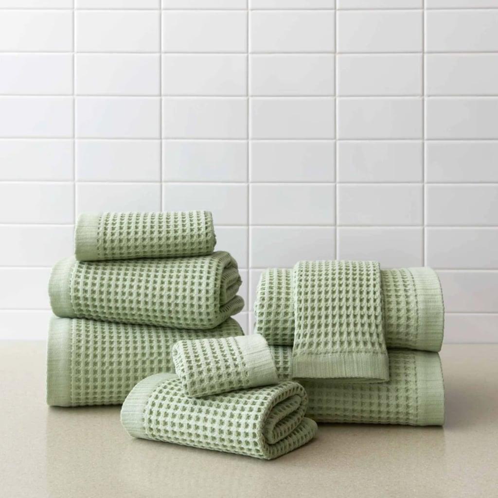 Brooklinen Waffle Bath Towels