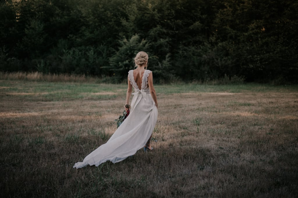 This Elegant Forest Wedding Looks Straight Out of a Dream