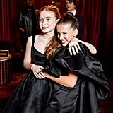 Pictured: Sadie Sink and Millie Bobby Brown