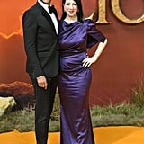Pictured: Keegan Michael-Key and Elisa Key at The Lion King premiere in London.