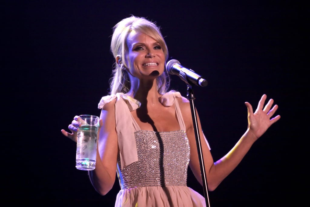 Kristin Chenoweth smiled in LA at the Trevor Live benefit.