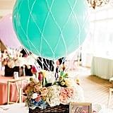 Hot Air Balloon Baby Shower Ideas