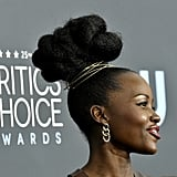 Lupita Nyong'o at the 2020 Critics' Choice Awards