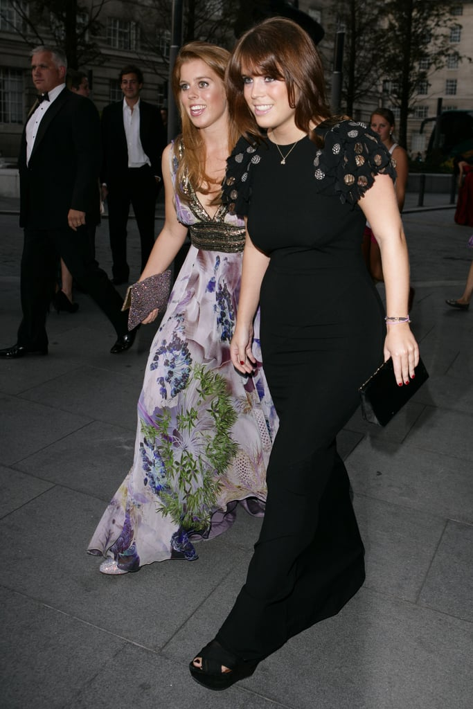 Princess Beatrice and Princess Eugenie have a night out on the town.