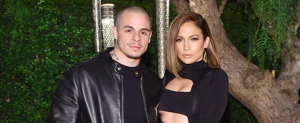 Jennifer Lopez at Olivier Rousteing's Birthday Party 2015