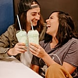 Couple Takes Engagement Photos at Taco Bell