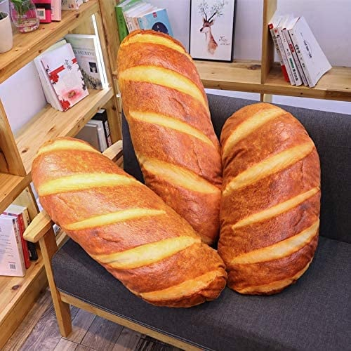 Bread-Shaped Pillow