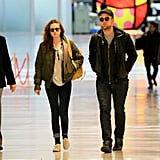 Kristen Stewart and Robert Pattinson Pictures Leaving NYC