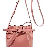 Mansur Gavriel Mini Mini Patent-Leather Bucket Bag