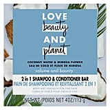 Love Beauty and Planet Coconut Water Shampoo + Conditioner Bar