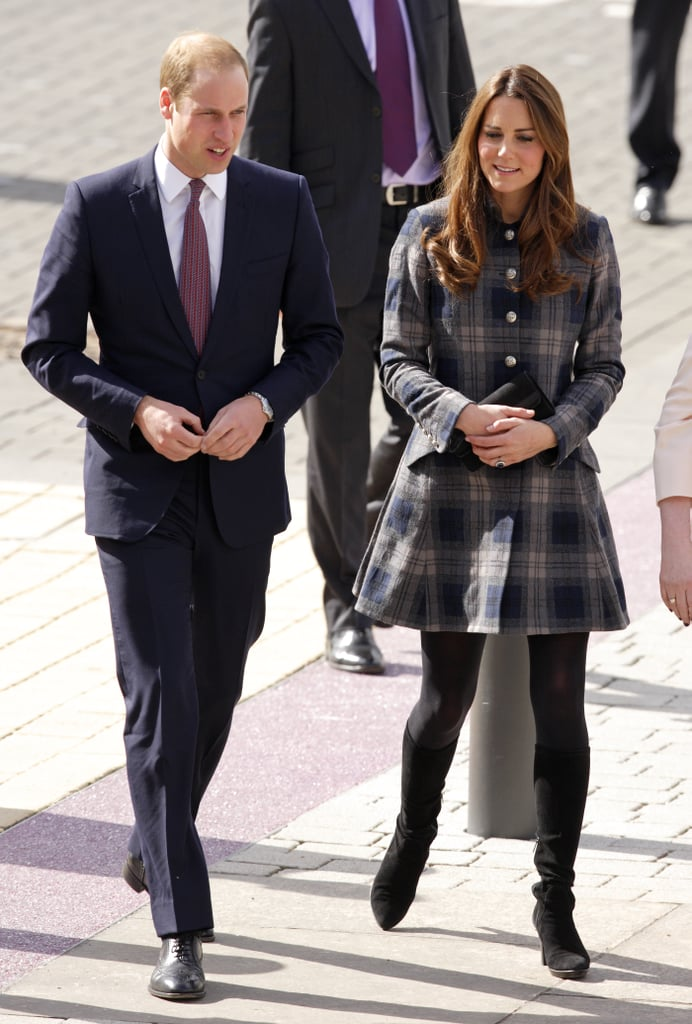 Kate and William linked up in Glasgow, Scotland, on April 4, 2013, to tour a new sporting arena.