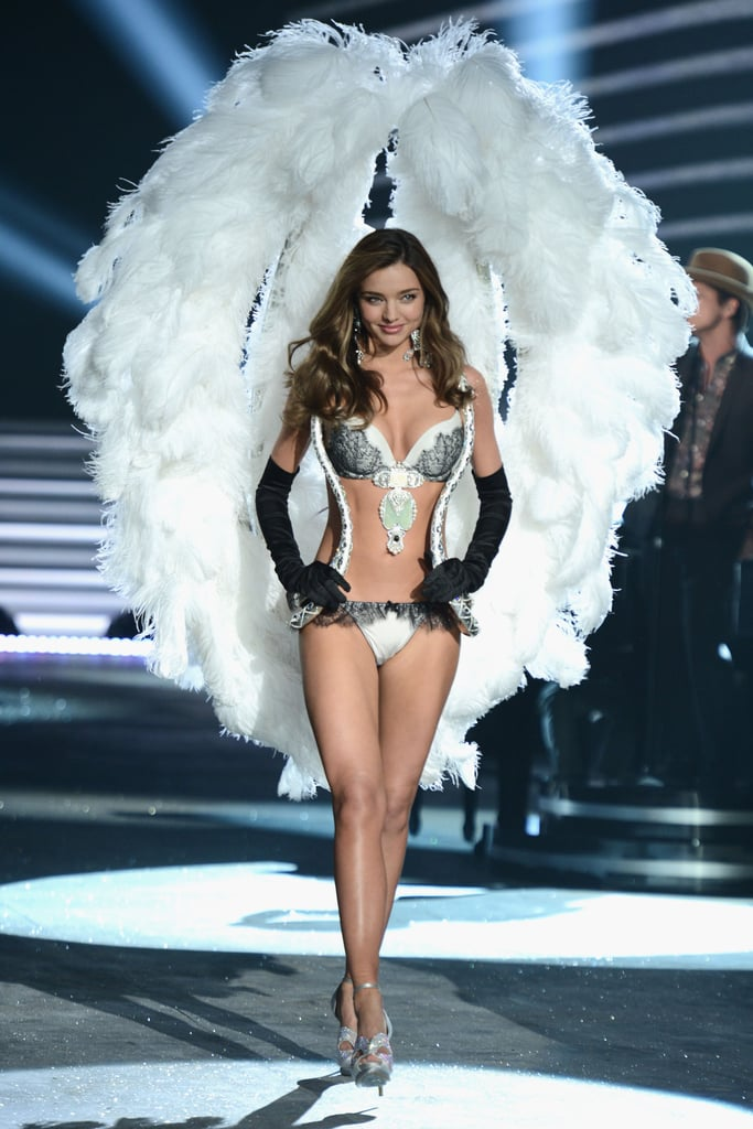 We didn't know it at the time, but watching the angelic beauty walk in the 2012 Victoria's Secret show would be the last time we saw her don those wings!